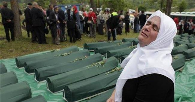 Funeral held for Muslim Bosniaks killed long ago