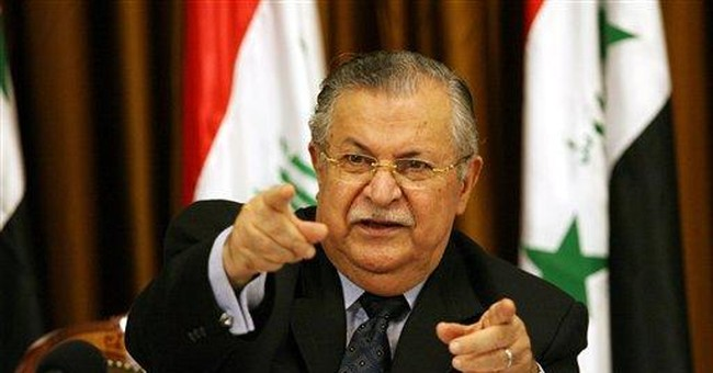 Iraqi president calls for dialogue to solve crisis