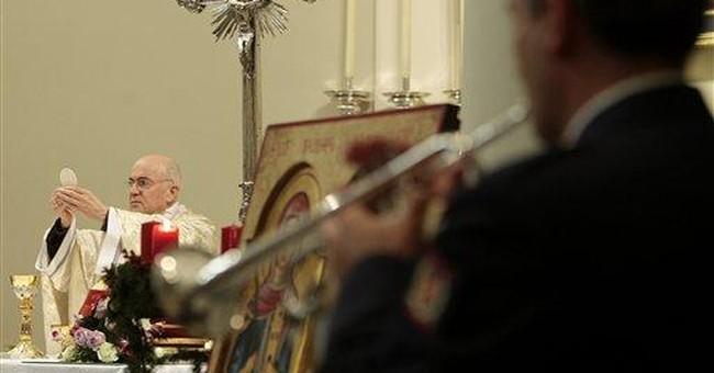 AP Interview:  Papal leaks author calm amid storm
