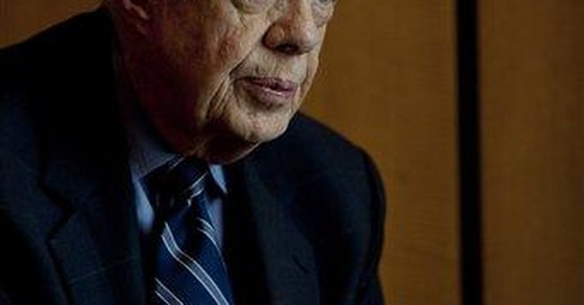 Carter says minor violations in Egypt's vote