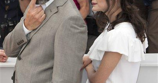 Audrey Tautou grown up at Cannes finale