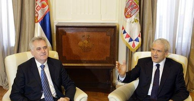Serbia rivals agree to cooperate on new government