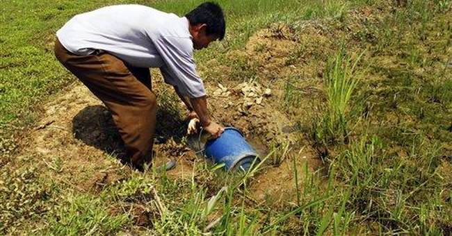 NKorean farmers cite grave drought; aid unlikely