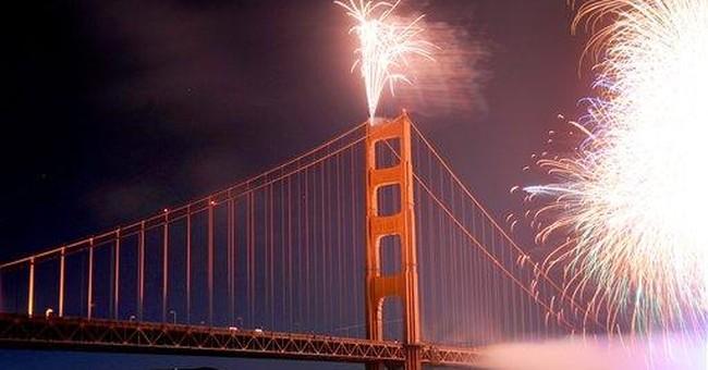 Crowds gather for Golden Gate Bridge celebration