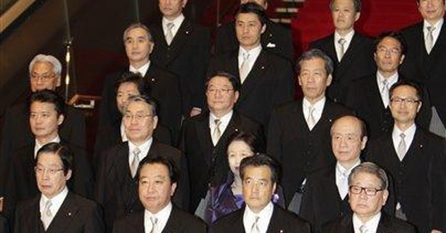 Japan PM lags in polls despite Cabinet reshuffle
