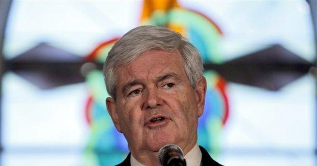 Gingrich: nominee must withstand 'Obama onslaught'