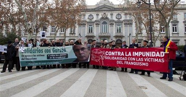 Crash and burn time for Spain's crusading judge?