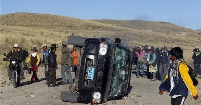 Mining protest leader arrested in Peru