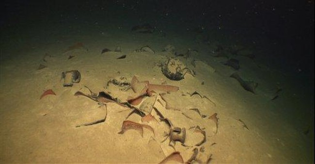 Greek experts find Roman wrecks nearly a mile deep