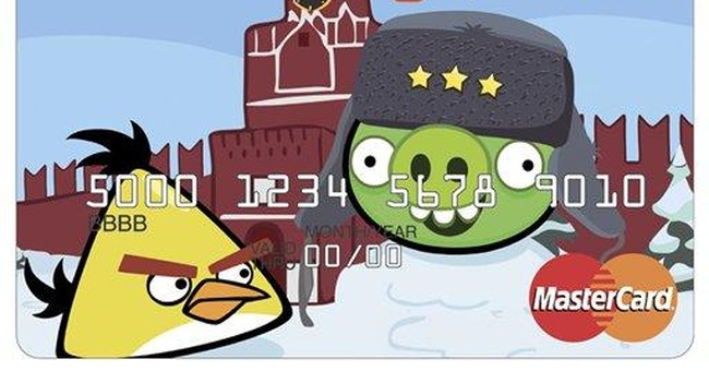 Angry Birds debit cards to be issued in Russia