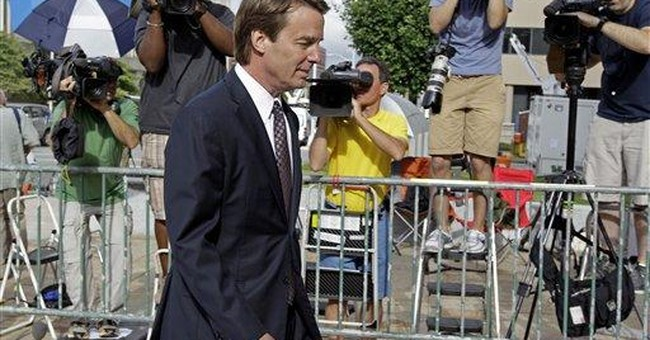 John Edwards jury ends 7th day of deliberations