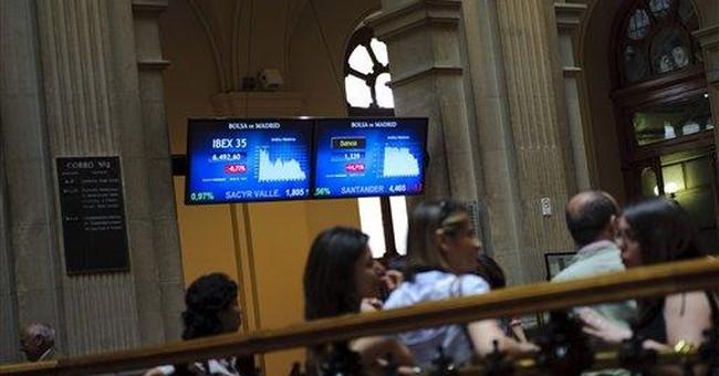 Spanish bond yields hit euro-era high