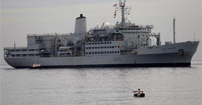 British ship in Cuba to mark battle anniversary