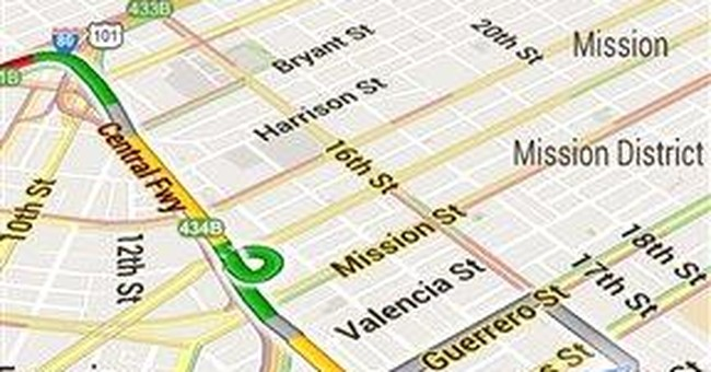 Review: A mapping contender emerges in MapQuest