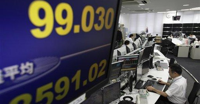 Markets stutter at end of tough month