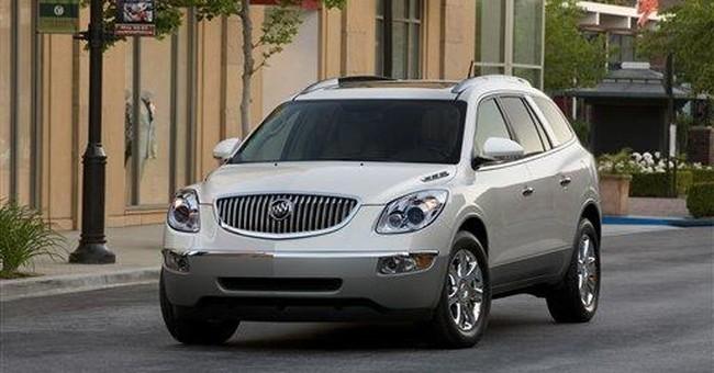 Buick SUV sets record