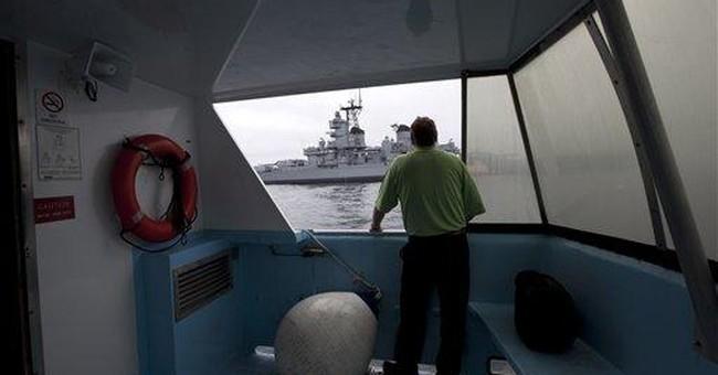 USS Iowa reaches California, will become museum