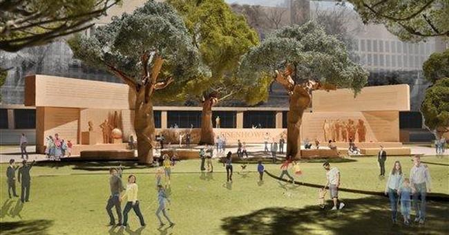 Eisenhower family: Impasse on memorial design