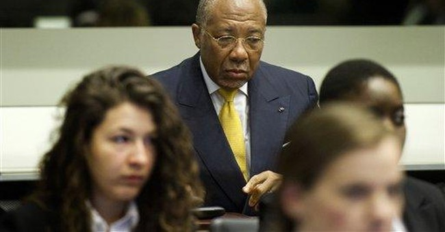 Judges sentence Charles Taylor to 50 years