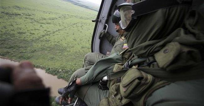 Venezuela bombs airstrips in anti-drug effort