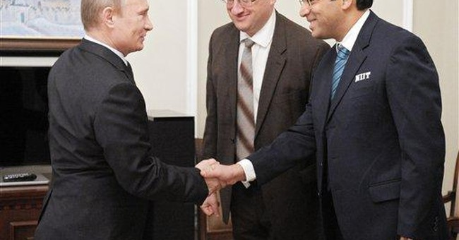Russia's Putin meets chess king Anand for tea
