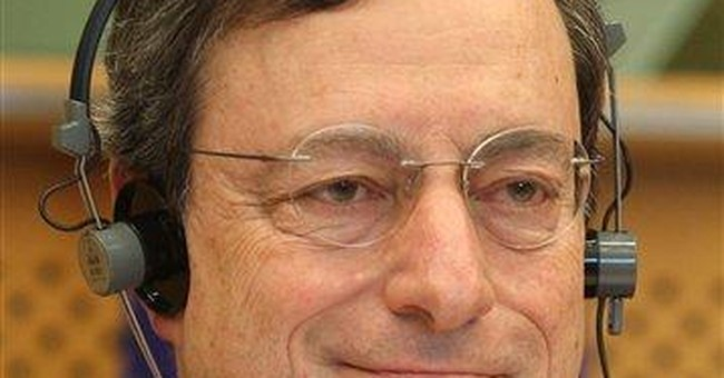 Euro structure is 'unsustainable,' ECB chief warns
