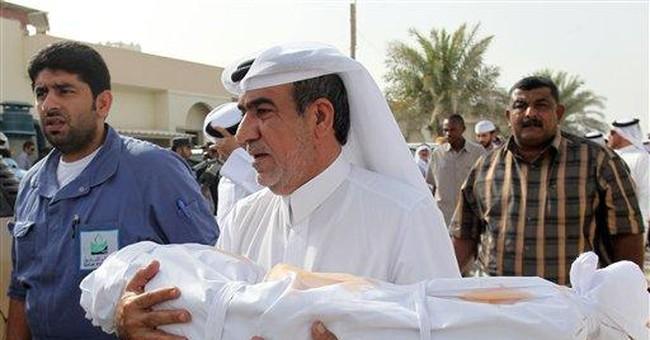 Qatar fire victim: 'Help me, I'm going to die'