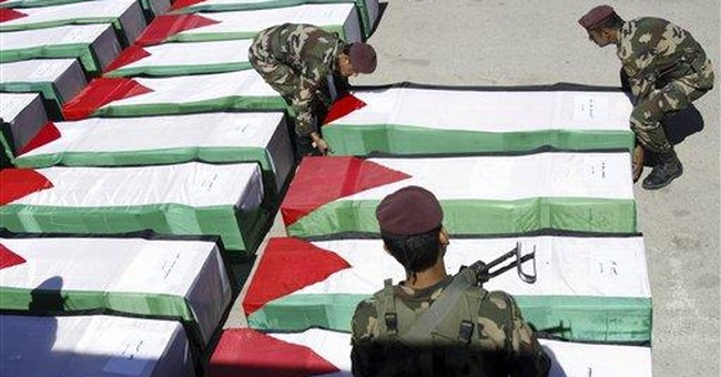 Israel hands over remains of Palestinian militants