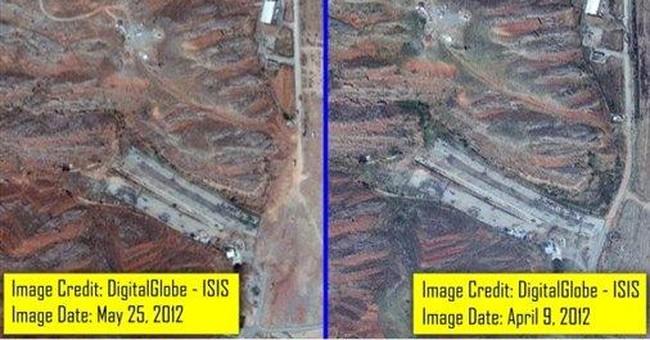 Satellite photos said to show Iran nuke clean up