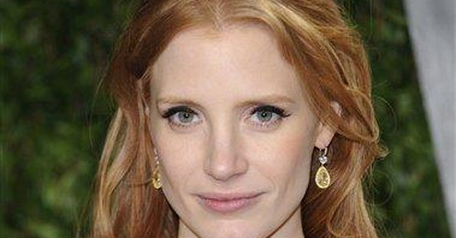 Jessica Chastain to help hand out Tony Awards