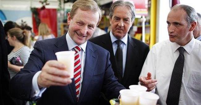 Irish say yes to EU pact, now seek EU growth deal