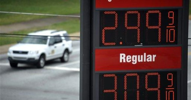 Gas prices are silver lining as economy weakens