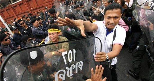 Protesters block Thai Parliament over amnesty bill