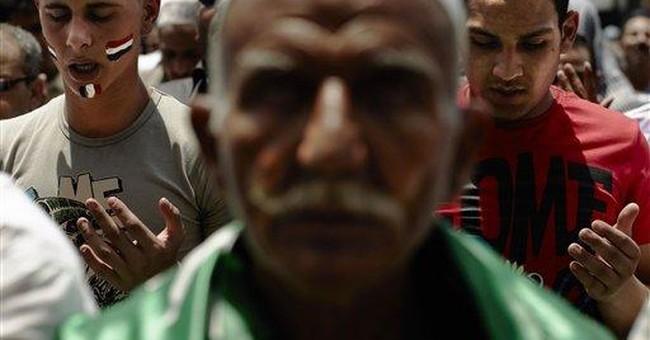 Egyptians rally against Mubarak-era candidate