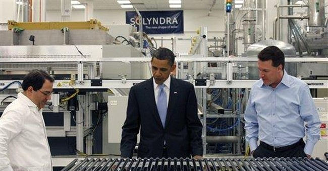 FACT CHECK: Romney misses a mark on Solyndra claim