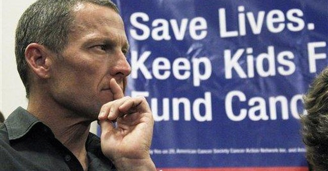 In California, it's Big Tobacco vs Lance Armstrong