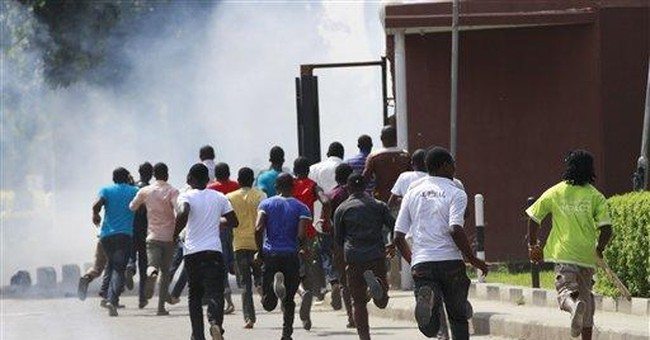 Police fire tear gas in Nigeria university protest