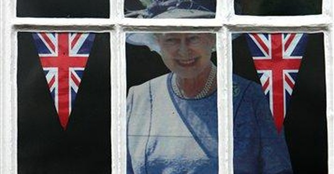 Queen's jubilee a fiesta for souvenir-sellers