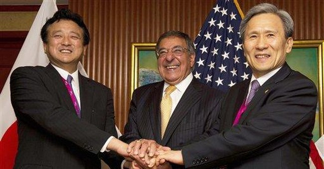 Panetta: No China threat from US military in Asia