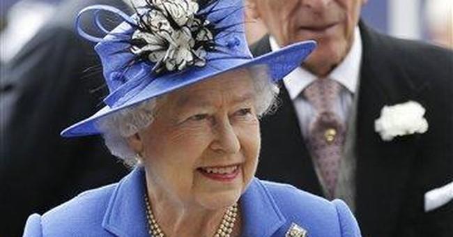 AP Photos: From shy princess to diamond queen
