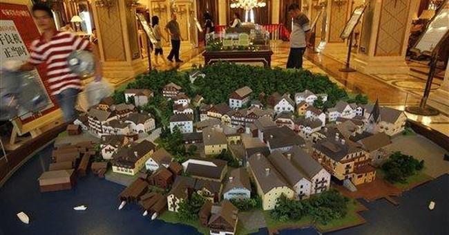 Chinese developer unveils replica Austrian village