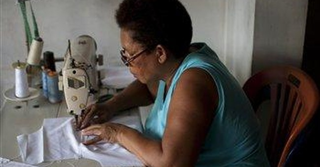 Venezuelan candidate's shirts a boon for business