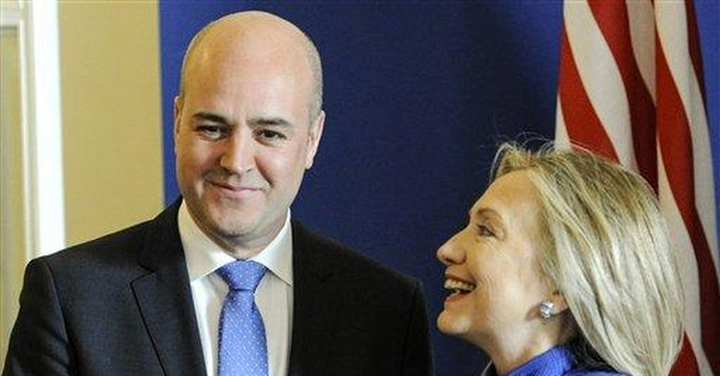 Clinton: US needs Europe `operating at full speed'