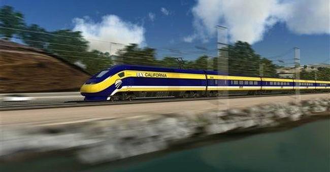Poll: Voters turn against California bullet train