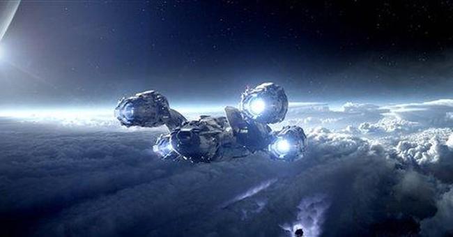 Review: `Prometheus' a gorgeous, intense trip