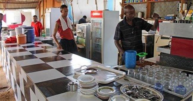 Luxury dining on Somali beach as market matures