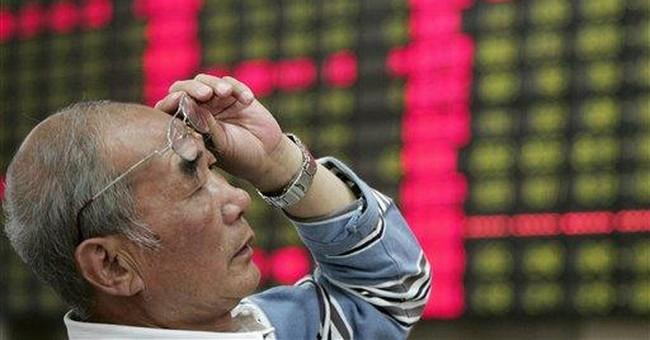Oddities in Chinese stock index evoke Tiananmen
