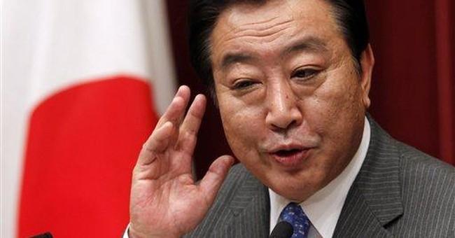 Japanese PM Noda reshuffles Cabinet over tax bill