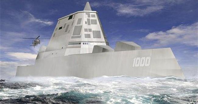US Navy hopes stealth ship answers a rising China