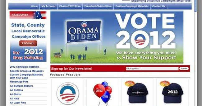 Obama campaign committee sues store over logo use